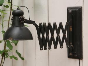 Chic AntiqueVägglampa - Factory - Antik Svart