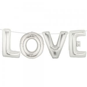 Girlang - LOVE - Ballonger - 38 cm hög