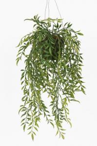 Mr PlantAmpelväxt Hoya - Konstgjord naturtrogen - 52 cm
