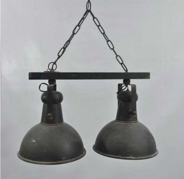 Taklampa taklampa industri : Taklampa - Dubbel från Filipiniana 1650.00 kr - Fröken Fräken