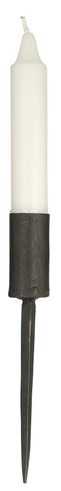 Ljushållare Spik Svart Smide 17cm från Madam Stoltz 95 00 kr Fröken Fräken
