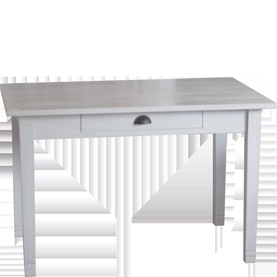 Matbord vintage white 75 x 120 cm fr n kr for Schuhschrank 60 x 100