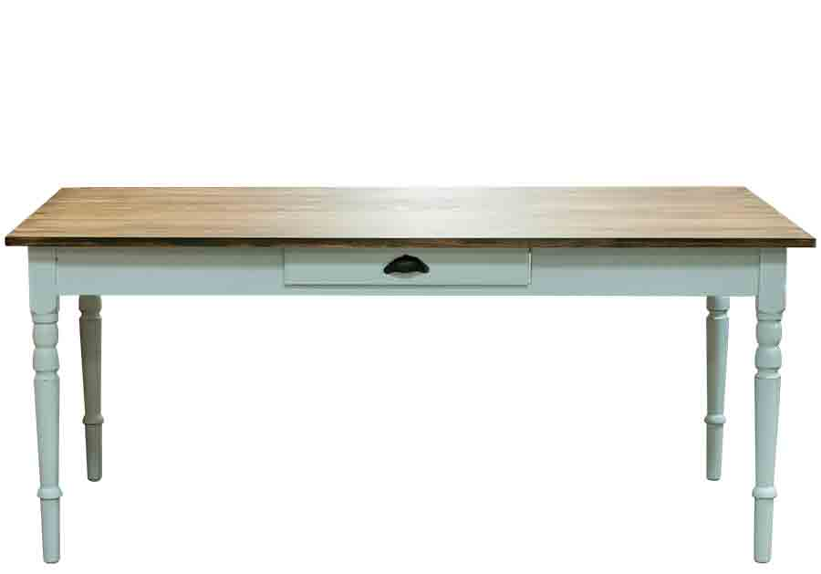 Vitt Koksbord : vitt koksbord  Butik Lanthandeln Stort vitt gammalt matbord SoLT