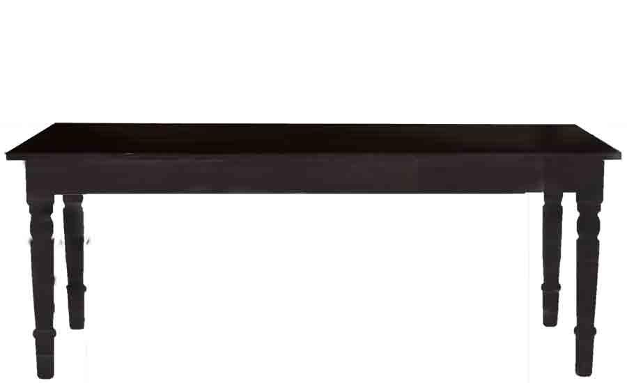 matbord vintage black 90 x 200 cm fr n kr fr ken fr ken. Black Bedroom Furniture Sets. Home Design Ideas