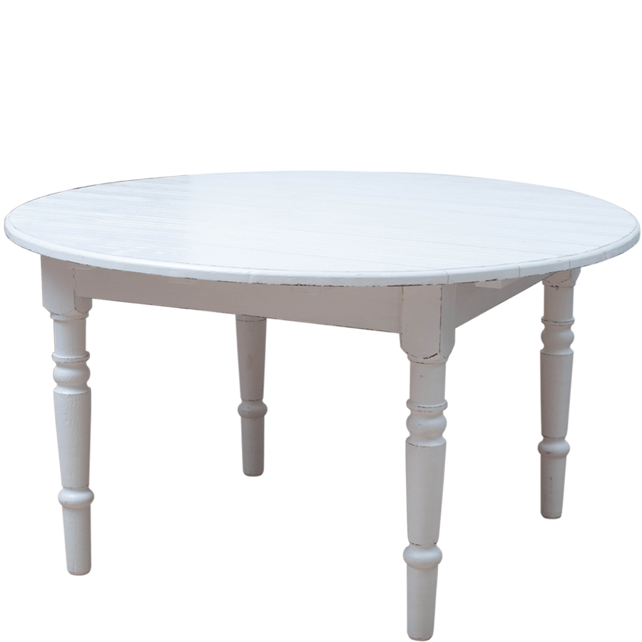 Bord fr?n Millj?g?rden  Tr?bord  Emma, vintage white eller