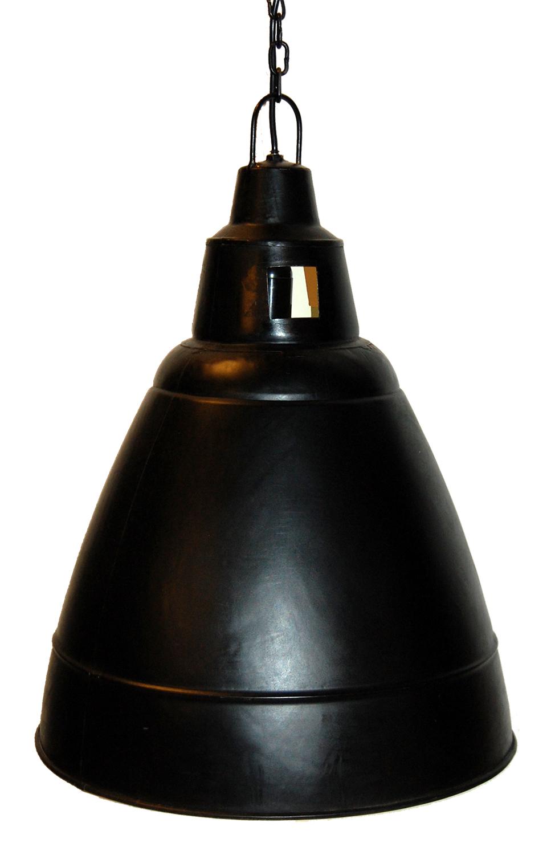 industristil  ?44 Stor rustik h?ngade lampa i fabriksstil