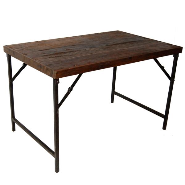 matbord mörkt trä