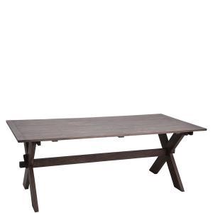 Matbord - Rustik Grått - 97 x 200 cm - www.frokenfraken.se