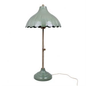 Bordlampa Annie Antik Grön - Ø 30 x H 68 cm - www.frokenfraken.se