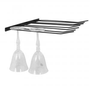 Glashängare - 4 rader - Svart - 45 x 35,5 cm - www.frokenfraken.se