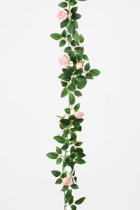 Mr Plant Girlang av rosa rosor - 160 cm