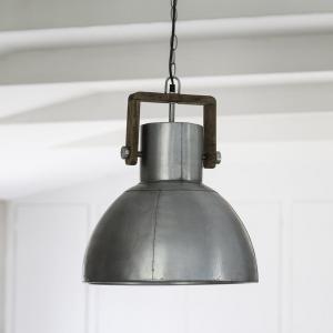 Taklampa - Ashby - Pale Silver - Ø29 cm - www.frokenfraken.se