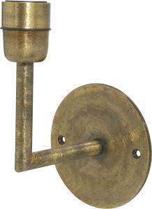 Base Vägglampa - Beaten gold 13cm - www.frokenfraken.se