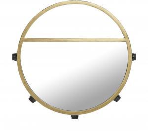 Bea spegellampa - Svart/guld 45cm - www.frokenfraken.se