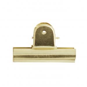 Klämma - Clips - Guld - 7 cm - www.frokenfraken.se