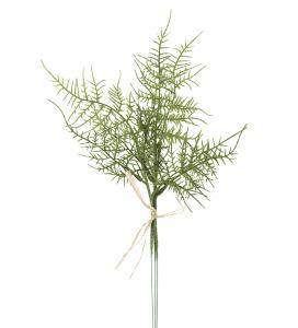 Plumosus - 3 st konstgjora blad - 35 cm - www.frokenfraken.se