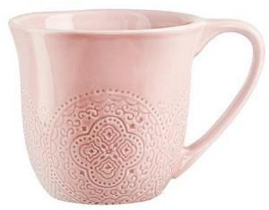 Orient mugg rosa - Kaffekopp - 3 dl - www.frokenfraken.se