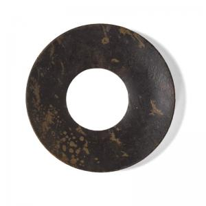 Ljusmanschett - Rå metall Vintage - 6 cm - www.frokenfraken.se