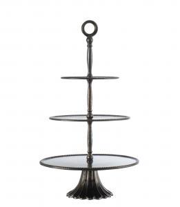 Affari Våningsfat - Cake Stand Bronze - 3 våningar - 65 cm
