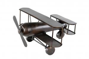 Flygplan - Metall - 25 x 28 x 16 cm - www.frokenfraken.se