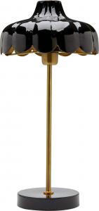 Wells bordslampa - Svart/guld 50cm - www.frokenfraken.se