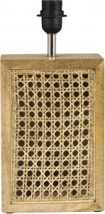 Ceylon Lampfot - Aged brown 38,5cm - www.frokenfraken.se