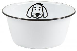 Matskål - Hund - Ø 17 x 8 cm - www.frokenfraken.se