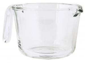 Vispskål - Glas - 19 cm - www.frokenfraken.se