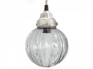 Lampa - Kula i glas - Handgjord - Ø21 cm - www.frokenfraken.se