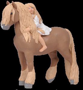 Häst Kompis - Liten - 20 cm - www.frokenfraken.se
