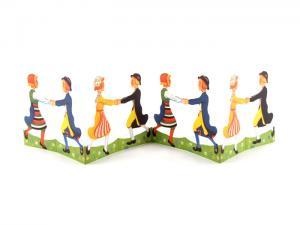 Pappersrad - Barn som dansar - - www.frokenfraken.se
