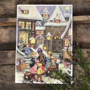 Chokladkalender - Tre vise män - Adventskalender - 35 x 25 cm - www.frokenfraken.se