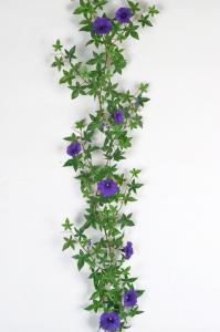 V.46 - Blomma för dagen - Blå -120 cm - www.frokenfraken.se