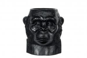 Kruka - Big Gorilla - Svart/Brun - 27 x 26 x 29 cm - www.frokenfraken.se