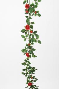 Girlang av röda rosor - 160 cm - www.frokenfraken.se