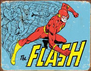 Flash - Retro Metallskylt - 32 x 41 cm - www.frokenfraken.se