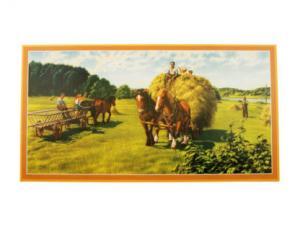 Bonad - häst och vagn - 82 x 44 cm - www.frokenfraken.se
