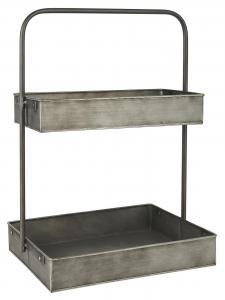 V.2 - Hylla för bänk eller bord - Metall - 50,5 x 35,7cm - www.frokenfraken.se