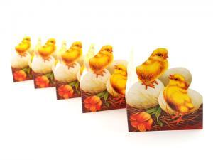 Pappersrad - Kycklingar - 10,5 x 85 cm - www.frokenfraken.se