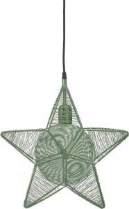 Rigel Stjärna - Grön 40cm - www.frokenfraken.se