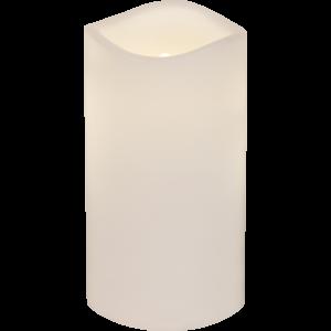 Batteriljus LED - 7,5 x 15 cm - Utomhus - Timer - www.frokenfraken.se