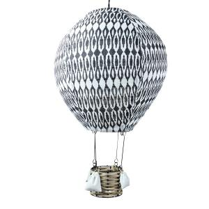 Luftballongslampa Mönstrad Svart - www.frokenfraken.se
