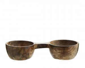 Salt och peppar skål - Mangoträd - 17 x 7,5 x 4 cm - www.frokenfraken.se