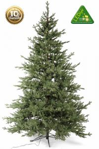 Julgran med belysning - Konstgran Viddjá - 240 cm - 700 lampor - www.frokenfraken.se