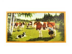 Bonad - Kossor i hagen - 78 x 41 cm - www.frokenfraken.se
