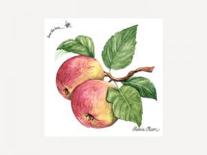 Servett - Äpple - 33 x 33 cm - www.frokenfraken.se
