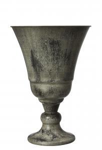 Kruka - Pokal - Grönmelerad - 28 x 41 x Ø27 cm - www.frokenfraken.se