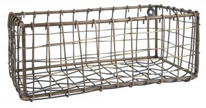 Korg - Metall - 10,5 x 8,5 x 22 cm - www.frokenfraken.se