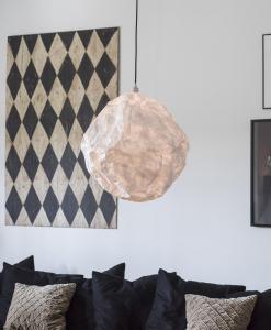 Taklampa - Paper Moon - Vit - Ø52 cm - www.frokenfraken.se