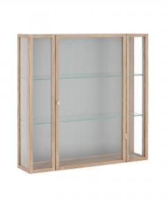 Skåp - På väggen - Trä/Glas - 102 x 102 cm - www.frokenfraken.se